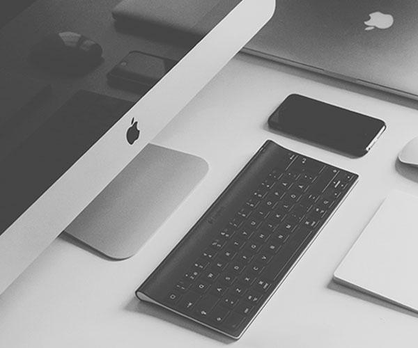 Image of an apple Mac desktop