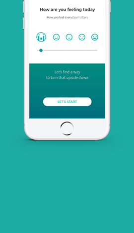 Case study on creating an user experience for an upcoming mental health start up