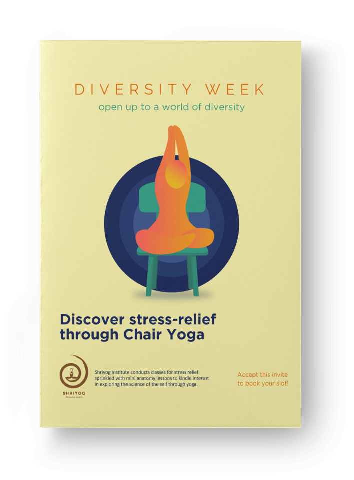 chair yoga campaign