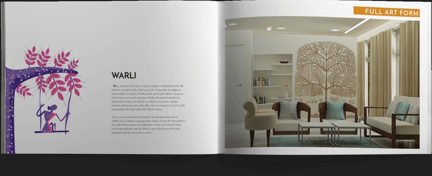 Warli design catalogue